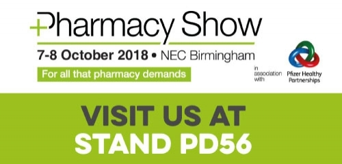Come visit us at the Pharmacy Show