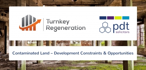 Contaminated Land – Development Constraints & Opportunities Seminar