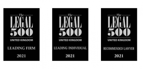 PDT Solicitors is ranked a Leading Firm by The Legal 500 2021 in 8 practice areas: Banking & Finance, Commercial Property, Corporate & Commercial, Debt Recovery, Insolvency & Corporate Recovery, Commercial Litigation, Public Sector and Asset Based Lending.