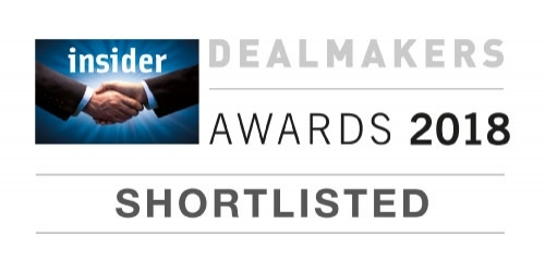 Finalists in the South East Dealmakers Awards 2018