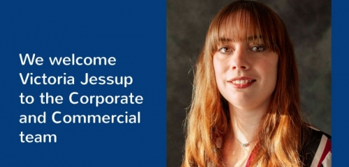 PDT Solicitors welcome Victoria Jessup to the corporate and commercial team
