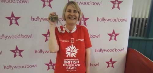 PDT's Karen Barrett has been selected on Team Great Britain & NI for the World Transplant Games 2019
