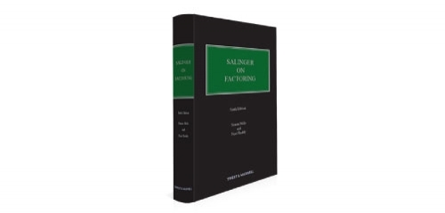 The new sixth edition of Salinger on Factoring, our bestselling expose of the law and practice of invoice finance is now available for purchase