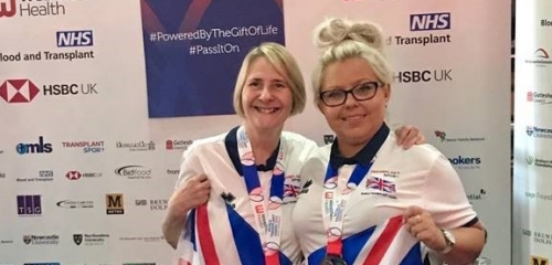 World Transplant Games Win for Karen Barrett