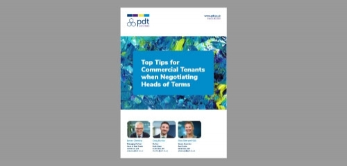 Top Tips for Commercial Tenants when Negotiating Heads of Terms