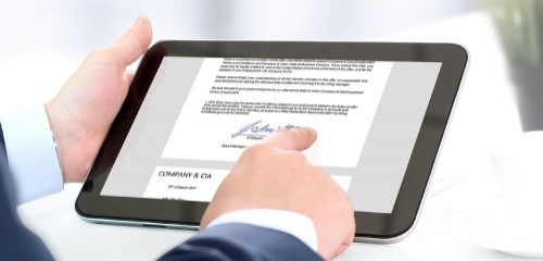 Electronic Signatures –  Update on Law Commission Report