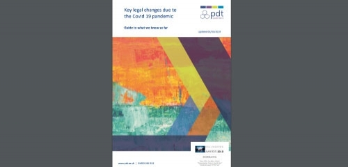Free Download: Important Covid19 Legal Updates May 2020: Guide to the key legal changes all businesses should be aware of and what to look out for in the coming weeks as we start to see a release of lockdown